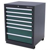 Kraftmeister Werkzeugschrank mit 7 Schubladen Premium grün