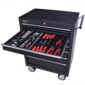 George Tools Werkzeugwagen gefüllt 7 Schubalden 144-teilig anthrazit