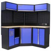 Kraftmeister Werkstatteinrichtung Oregon Multiplex blau