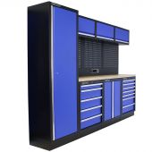 Kraftmeister Werkstatteinrichtung Delaware Multiplex blau