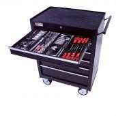 George Tools Werkzeugwagen - 6 Schubladen - 209-teilig