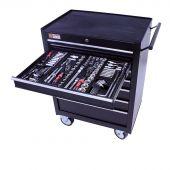 George Tools Werkzeugwagen gefüllt - 7 Schubladen - 253-teilig