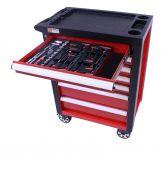George Tools Werkzeugwagen gefüllt - Redline - 80-teilig