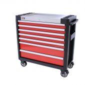 George Tools Werkzeugwagen Redline 38 Premium - 7 Schubladen