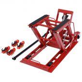 George Tools mobiler ATV/Motorradheber 680 kg hydraulisch