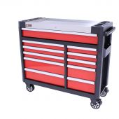 George Tools Werkzeugwagen gefüllt Redline 44 Premium - 154-teilig